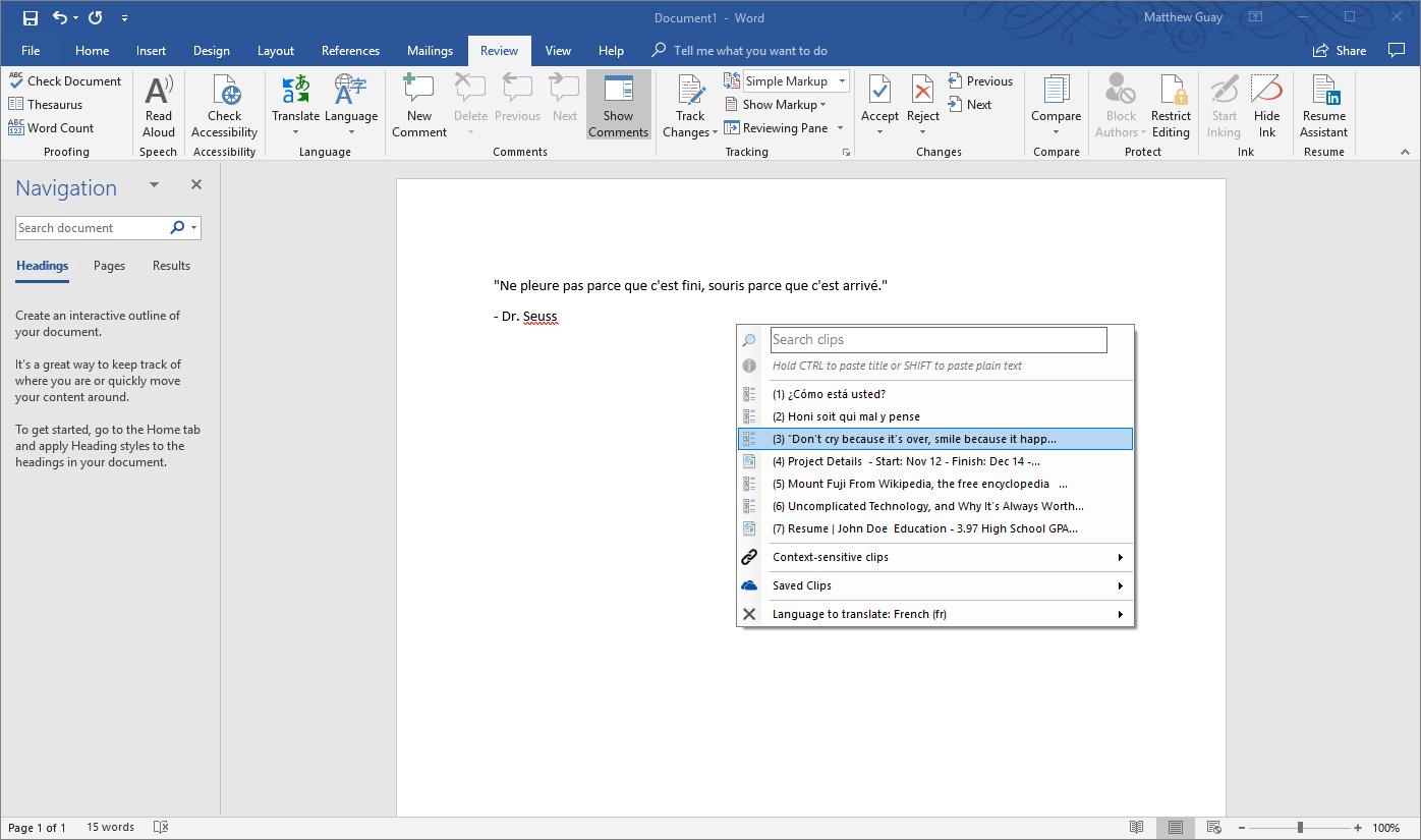 ClipClip-paste-menu-word-document